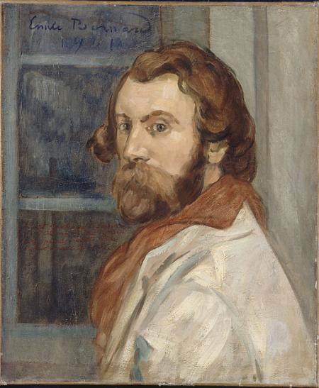 Autoportrait 1901 hst Lille musée des Beaux Arts