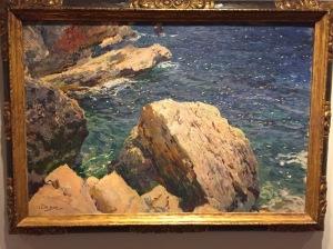 les rochers du cap JAVEA 1905