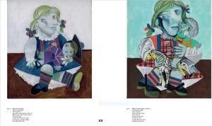 Maya à la poupée January 16 1938 Oil on canvas 73x60cm) Musée national Picasso Paris Zervos IX:99 la fille de l'artiste avec sur les bras une poupée coiffée d'un béret de marin-Maya à la poupée et au cheval